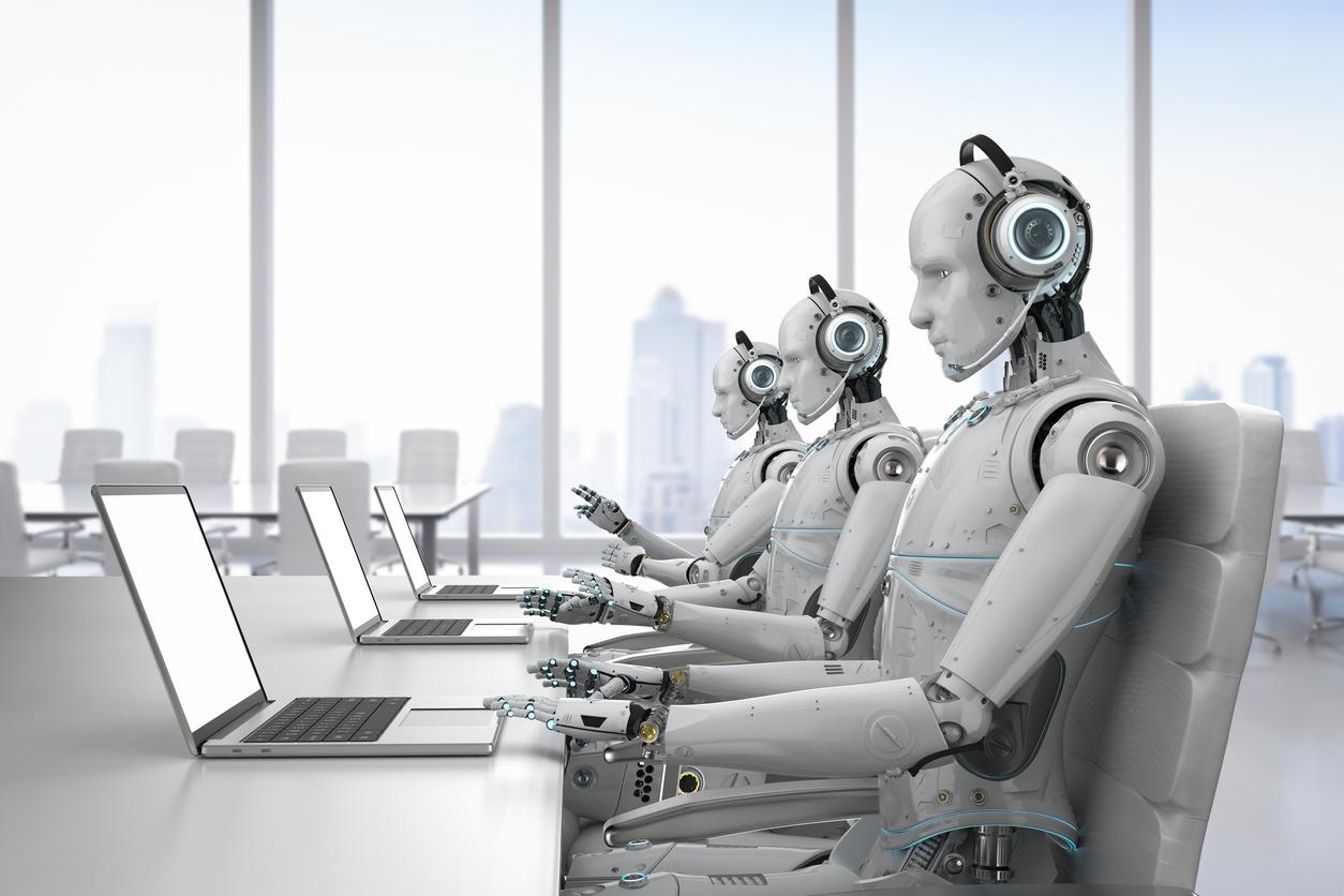 robot calling